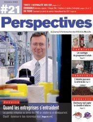 Perspectives 21.indd - (CCI) Centre-Sud Manche