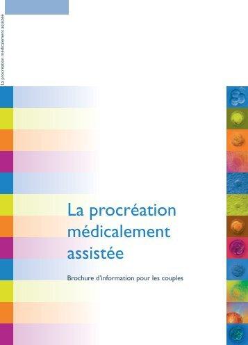 La procréation médicalement assistée - CPMA, Centre de ...