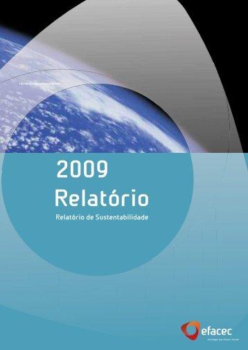 Relatório de Sustentabilidade 2009 - Efacec