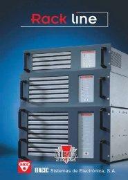 UPS - METASYSTEM - Rack Line - Efacec