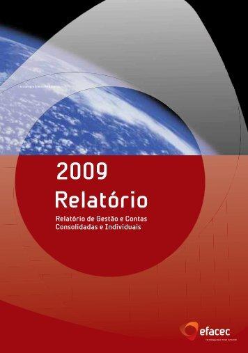Relatório 2009_Relatorio de Gestão - Efacec