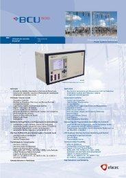 Unidade de controlo Elay control de painel unit - Efacec