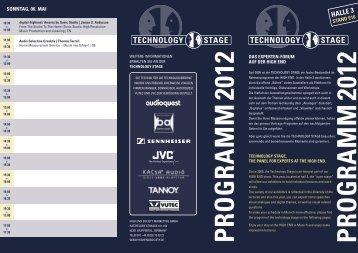 PRog Ramm 2012 - High End Society