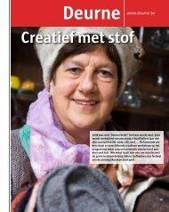 Deurne Creatief met stof - Stad Antwerpen