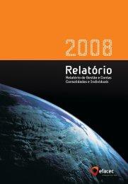 Relatório 2008_Relatório de Gestão - Efacec