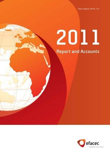 Report and Accounts 2011   1 - Efacec