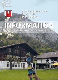 Mai 2012 - Erlenbach im Simmental