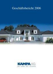 Geschäftsbericht 2006 (4,3 MB) - KAMPA AG