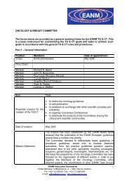 ONCOLOGY & BREAST COMMITTEE The forms below are provided ...