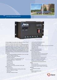Steca Solarix Alpha Charge Controller - Efacec
