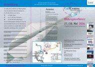 11214 Flyer CallCenter Akademie - Call-Center-Akademie GmbH