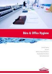 Professionelle Büro & Office Hygiene - Schmidt Gebäudereinigung