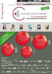 1D10 - Contact Center Trends