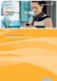 crealogix gruppe geschäftsbericht 2011 / 2012