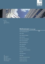 Referenzmappe - S+B Gruppe