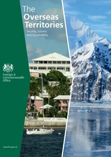 The Overseas Territories: security, success and sustainability CM 8374