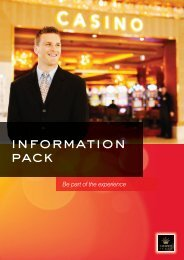 information Pack - Crown Perth