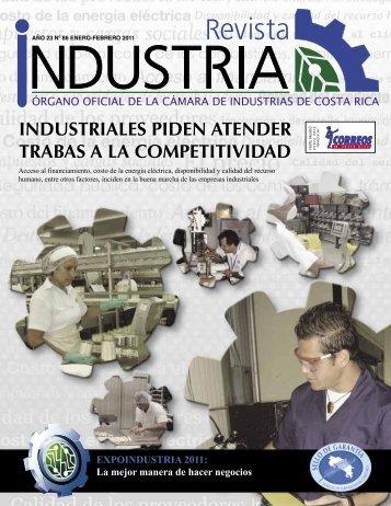 AÑO 23 Nº 86 ENERO-FEBRERO 2011 - Cámara de Industrias