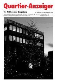 Quartier-Anzeiger Archiv - Quartier-Anzeiger für Witikon und ...