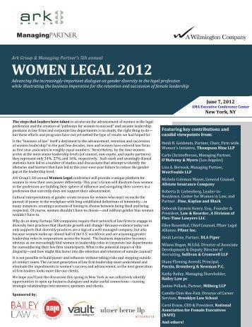 WOMEN LEGAL 2012 - Ark Group