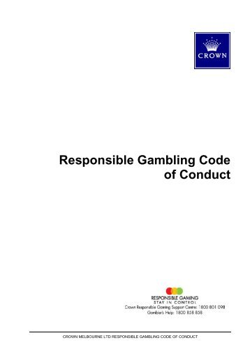 Gambling codes conduct irs gambling losses winnings