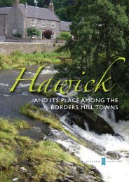 And Its PlAce AMOnG The BORdeRs Mill TOwns - Historic Scotland