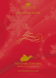 Christmas & New Year 2012 - The Crown Hotel