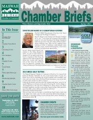 Chamber Briefs - Mahwah Chamber of Commerce