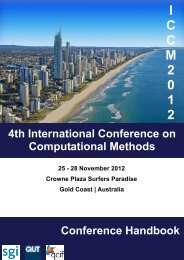 detailed program for parallel sessions - The 4th International ...