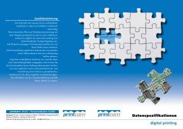 digital printing - Printcom