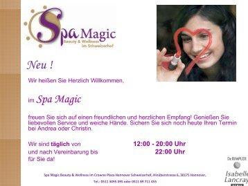 im Spa Magic - Crowne Plaza Hannover