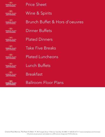 View Banquet Menu - Yogi's All American Grill & Sports Bar