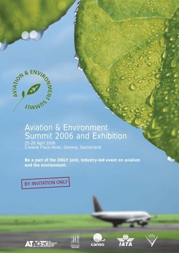 Aviation & Environment Summit 2006 and Exhibition - ACI