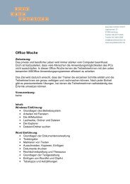 Office Woche - easy data solution GmbH