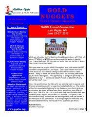 Download Full Newsletter - Golden Gate Association of Health ...