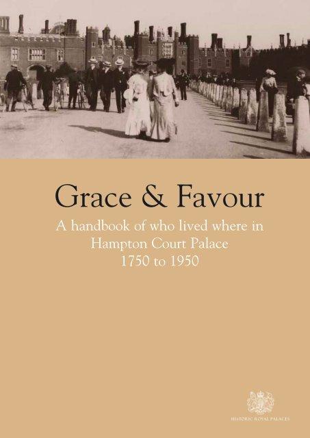 Grace Favour Historic Royal Palaces