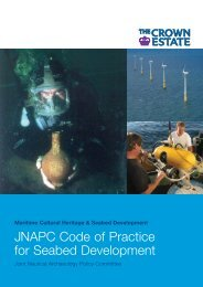 Code of Practice for Seabed Development - Joint Nautical ...