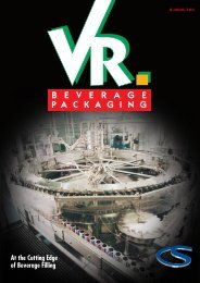 At the Cutting Edge of Beverage Filling - Verpackungs-Rundschau