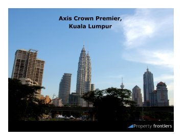 Axis Crown Premier, Kuala Lumpur - Property Frontiers
