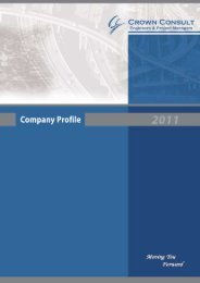 Company Profile - Crown Consult