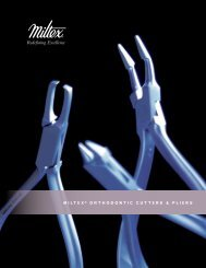 Orthodontic Cutters and Pliers - Integra Miltex