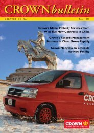 China Newsletter - Crown Relocations