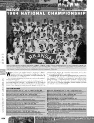 1964 NATIONAL CHAMPIONSHIP - ArkansasRazorbacks.com