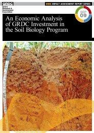 impact assessment report series - Grains Research & Development ...