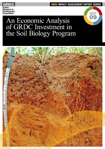 impact assessment report series - Grains Research & Development ...