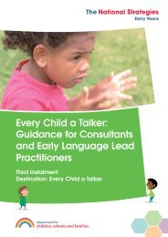 Every Child a Talker Third Instalment - Early Learning Consultancy