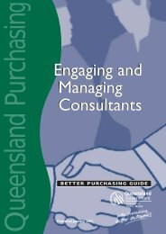 Managing the consultancy - Department of Housing and Public ...