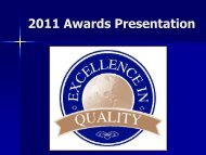 Award of Excellence Aerosol