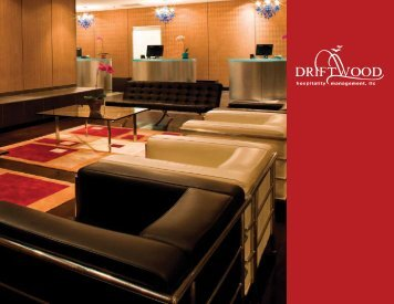 Download Our Brochure! - Driftwood Hospitality Management