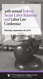 Federal Sector Labor Relations and Labor Law Conference
